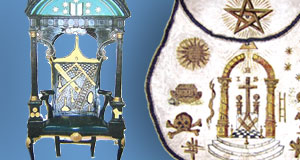 The Trinity Chair and Masonic Apron
